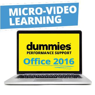 Dummies Microsoft Office 2017